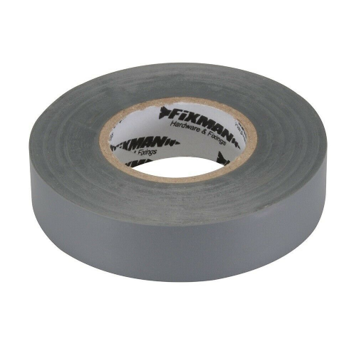 Fixman 188969 Electrical Insulation Tape 19mm x 33m Grey